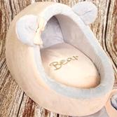 Домик тапок Bear персиковый