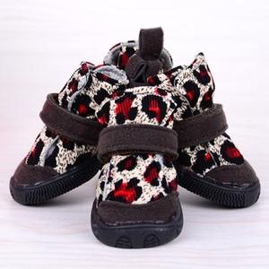 Ботинки Лео красные