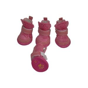 Сапоги Угги розовые