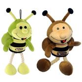 """Игрушка """"Пчелка Абэль"""" для собак, В=26см, с веревочными ногами"""