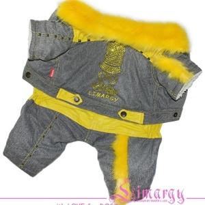 Зимний комбинезон Hips желтый