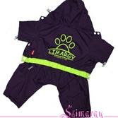 Дождевик Lim-paw фиолетовый