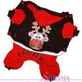 Утепленный костюм Deer красный