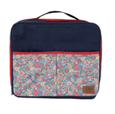 Сумка для путешествий Travel bag (blue). С большим количеством отделений