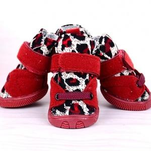 Ботинки New Лео красные