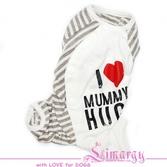 Пижама 'Mummy' полосатая