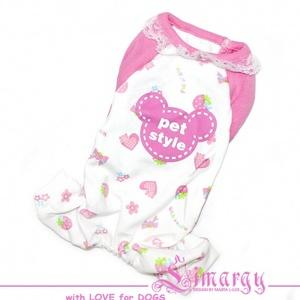 Пижама 'SMILE' розовая