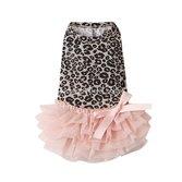 """Платье """"Leopard Pompon"""""""