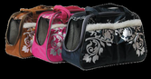 Меховые сумки с кармашком