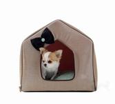 Домик для собак Bling-Bling коричневый