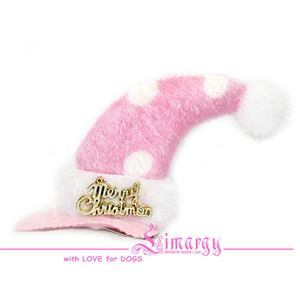 Заколка Колпак-горох розовая