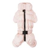 Комбинезон зимний Angelera для девочек кремовый