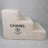 Лесенка Chanel персиковая
