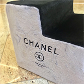 Лесенка Chanel черно-серый
