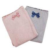 Теплое одеяло с бантиком