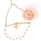 Ожерелье Хрустальная роза