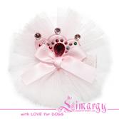 Заколка Мини Кро светло-розовая