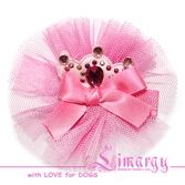 Заколка Мини Кро розовая